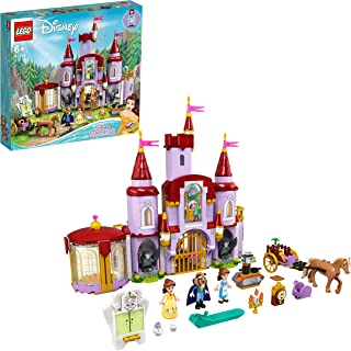 LEGO 43196 Disney Belle and the Beast's Castle Building Toy from The Beauty and the Beast Movie with Princess & Prince Min...