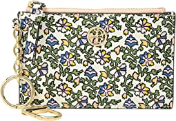 Robinson Floral Card Case Key Fob