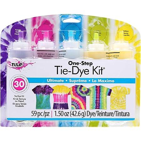 Tulip One Step Tie-Dye Kit 5 Farbe Ultimate, 59 teilig