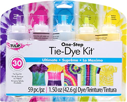 Tulip One-Step 5 Color Tie-Dye Kits Ultimate, 1.5oz
