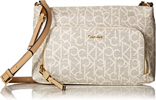 Calvin Klein Monogram Cross-Body Handbag