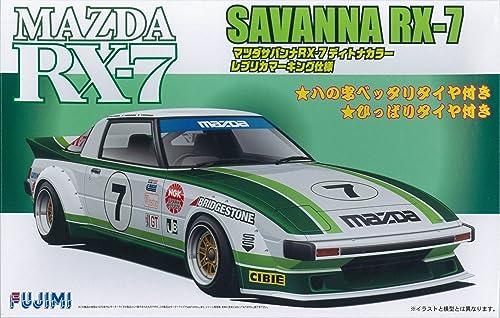 1 24 pouces de la série SPOT-No.78 Mazda Savanna RX-7 type de course SA22C couleur Daytona