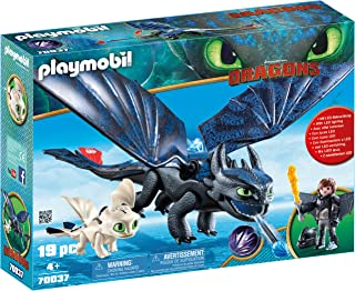 PLAYMOBIL How to Train Your Dragon III Hiccup & Toothless with Baby Dragon