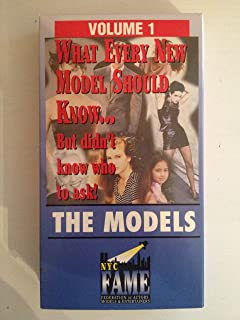 The Models -- What Every New Model Should Know .. But didn't know who to ask!