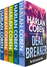 Myron Bolitar Series 5 Books Collection Set by Harlan Coben (Deal Breaker, Drop Shot, Fade Away, Back Spin & One False Move)