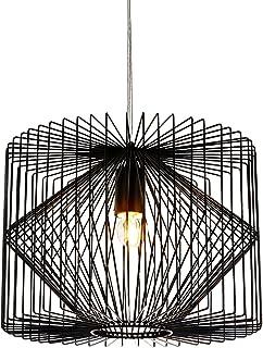 [lux.pro] Lámpara colgante retro diseño celosía - (E27) - lámpara de techo - vintage