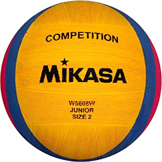Mikasa 1213 W6608W - Balón de Waterpolo, Color Amarillo, Azul y ...