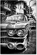 Car Miami by Philippe Hugonnard, 22x32-Inch Canvas Wall Art