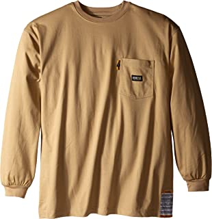 Berne Men's Big-Tall Flame Resistant Crew Neck Tee Shirt
