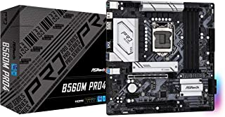 ASRock Intel 第10・11世代CPU(LGA1200)対応 B560 チップセット搭載 MicroATX マザーボード 【国内正規代理店品】 B560M Pro4