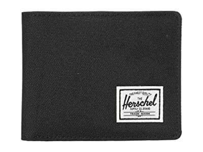 Herschel Supply Co. Hank RFID (Black/Black Synthetic Leather) Wallet Handbags