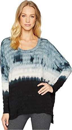 Slouchy Long Sleeve Scoop Tee
