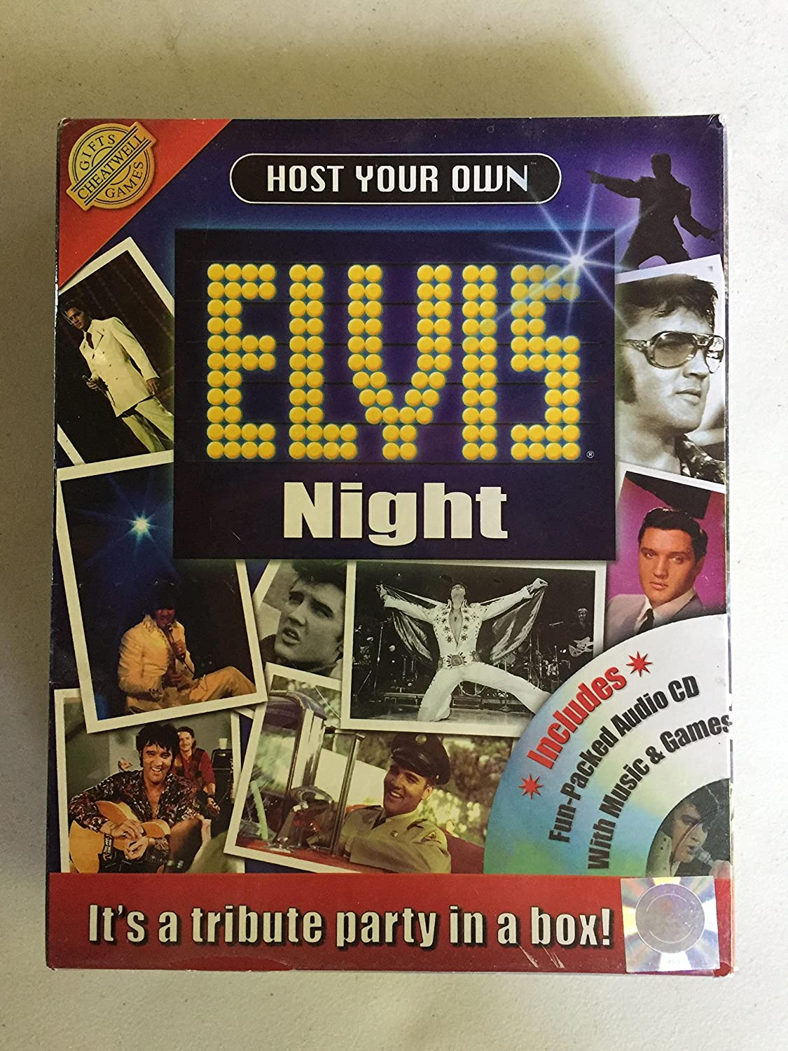 Host your own elvis night tribute party kit by Unknown (0100-01-01)