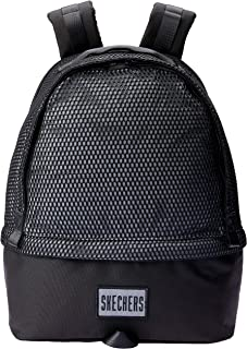 Skechers S548 Silver Mesh Lake Big Backpack, Gray, 45 Centimeters