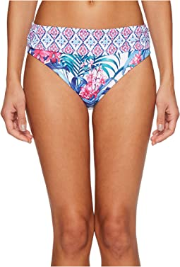 Tommy Bahama - Majorelle Jardin High-Waist Sash Bikini Bottom