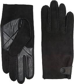 UGG - Sheepskin Snap Tab Tech Gloves