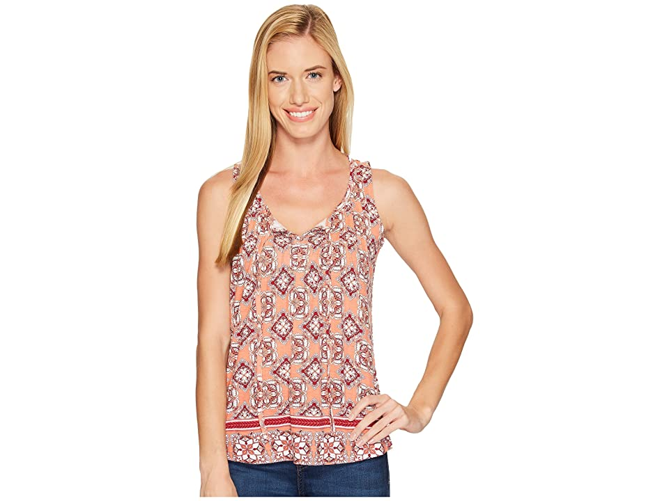 Aventura Clothing Bardot Tank Top (Blooming Dahlia) Women