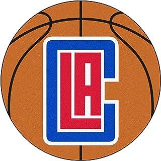 FANMATS NBA Los Angeles Clippers Nylon Face Basketball Rug
