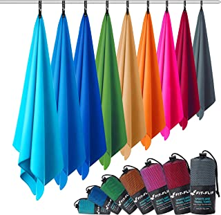 comprar comparacion Fit-Flip Toalla Microfibra – en Todos los tamaños, 12 Colores – compacta, Ultraligera y de Secado rápido – Toallas de Micr...