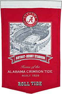 Winning Streak NCAA Alabama Crimson Tide Bryant-Denny Stadium Banner