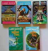 Larry Niven Five Novels Ringworld Ringworld Engineers and Throne Set and the Integral Trees