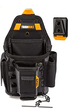 Toughbuilt 13-Compartment Small Electrician Pouch and Hub