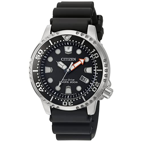 Citizen Mens Eco-Drive Promaster Diver Watch with Date, BN0150-28E