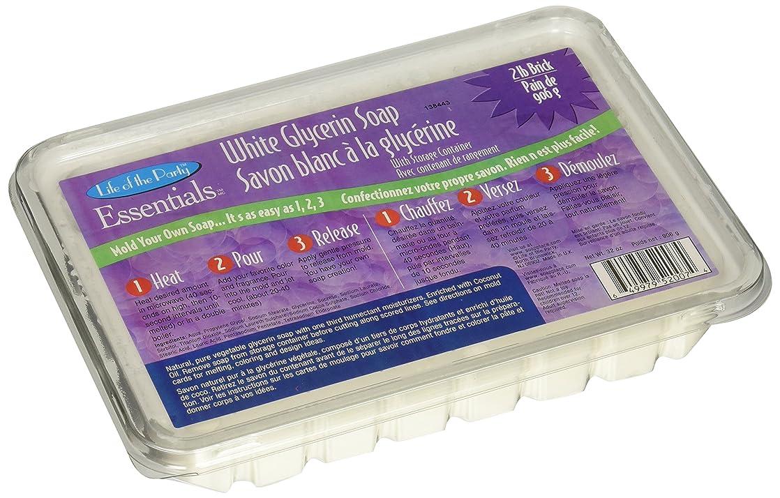 地区肘炎上Glycerin Soap 32oz-White (並行輸入品)