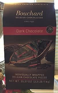 Bouchard Belgian Chocolatier Dark Chocolate 2.2 lb