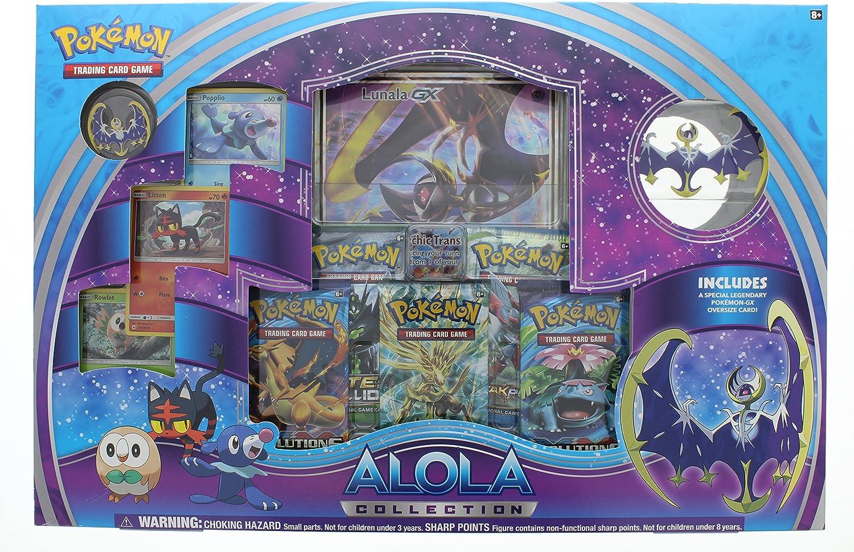 Mejor precio Pokemon TCG Alola Collection Lunala Lunala Lunala VERSION INGLESA  Las ventas en línea ahorran un 70%.