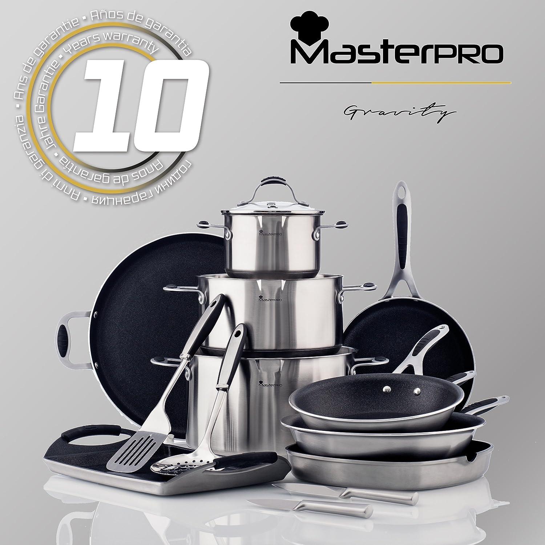 MasterPro Fuente Cuadrada 30 cm gres Gravity 30 x 30 cm