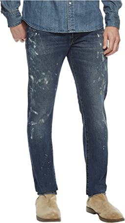 Polo Ralph Lauren Sullivan Slim Five-Pocket Denim in Sawyer Paint Spatter