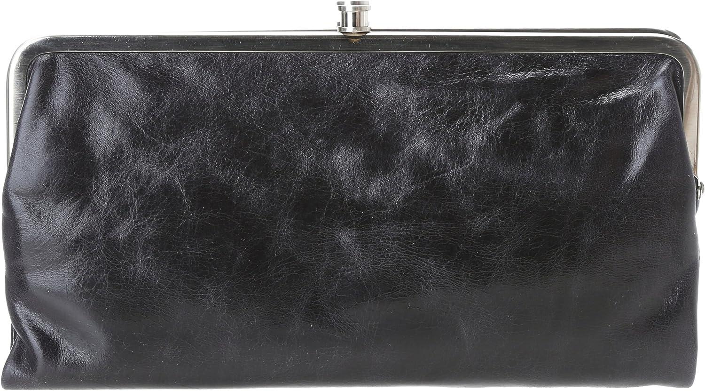 HOBO Lauren SU Wallet,Black,One Size