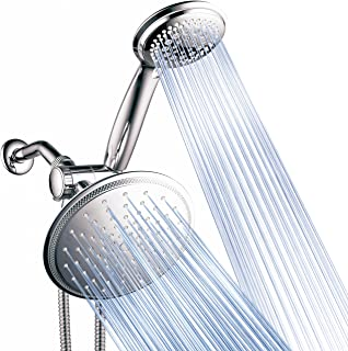 DreamSpa 3-way 8-Setting Rainfall Shower Head and Handheld Shower Combo (Chrome). Use..