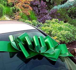 Big Emerald Green Car Bow - 25