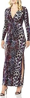 فستان نسائي مطبوع عليه Animal Hybrid من جاست كافالي