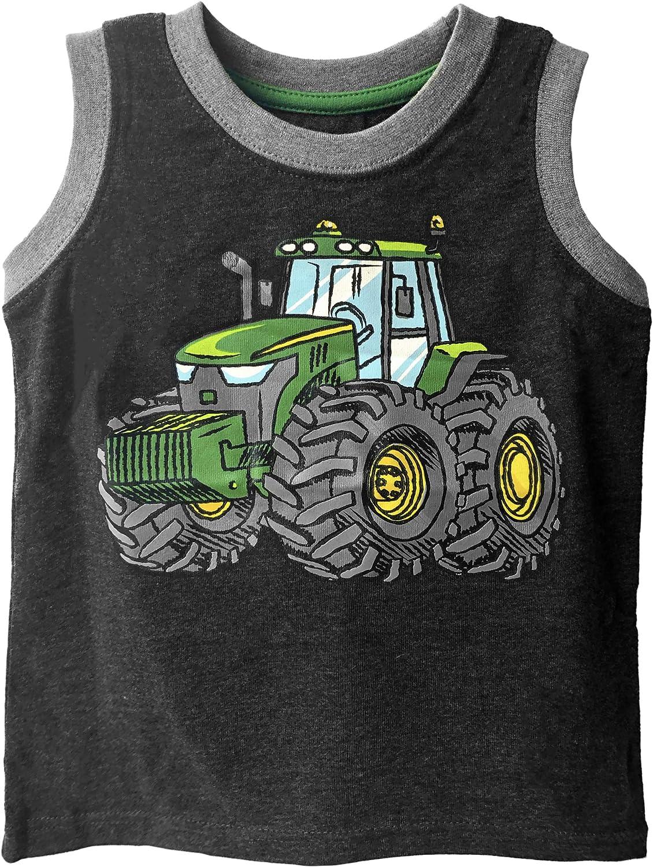 John Deere Toddler Boys' Tractor Muscle Tee