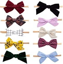 Best black leather bow headband Reviews