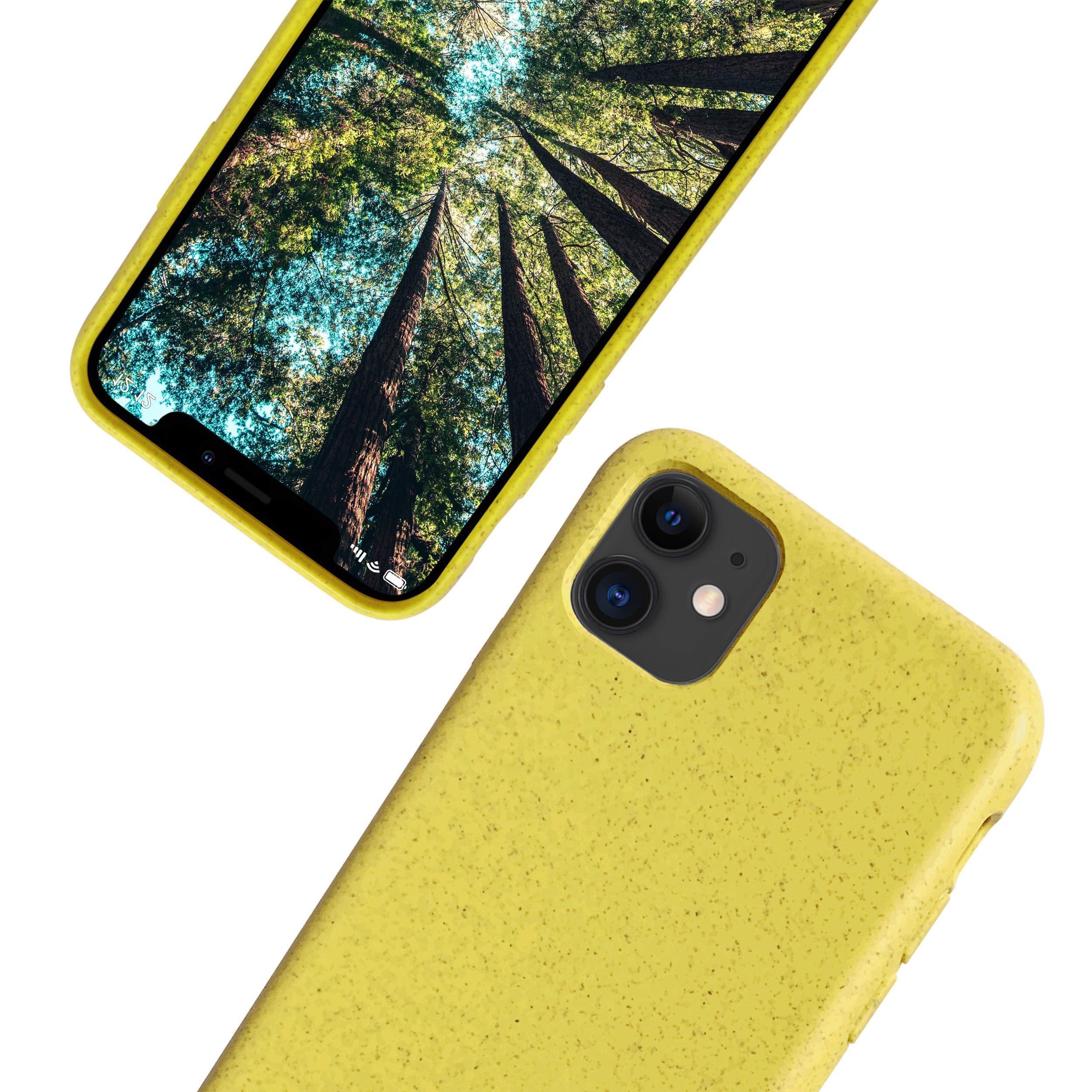 eplanita Eco Funda para iPhone 11/11 Pro, Biodegradable y ...