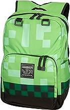 JINX Minecraft Creeper Kids School Backpack, Green, 18