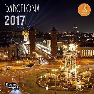 Nouvelles Images calendario 2017Barcelona 16meses, 14,5x 14,5cm