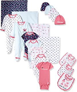 Gerber Baby Girls' 19-Piece Essentials Gift Set