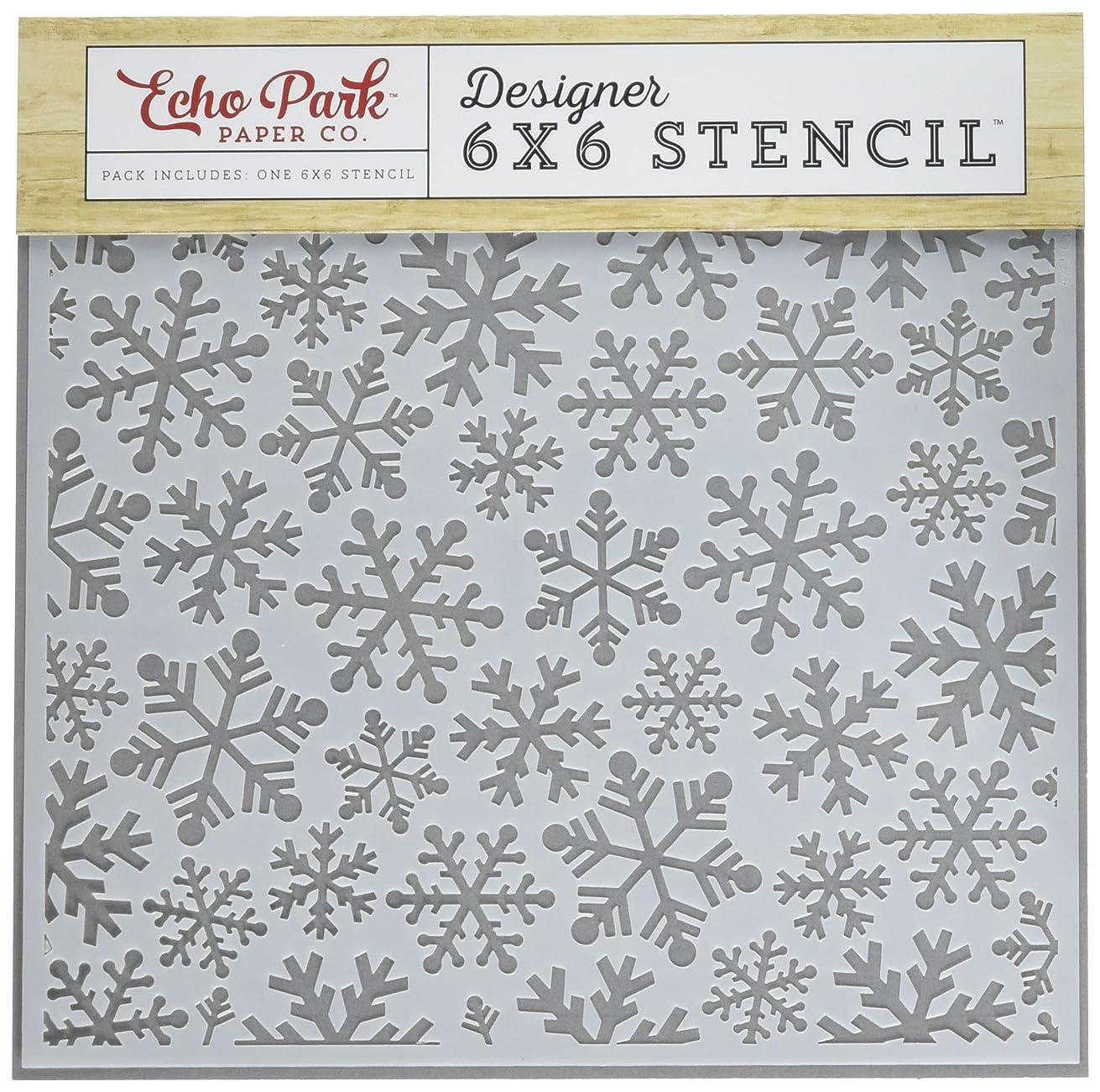 Echo Park Paper Company Snowflakes #4 Stencil