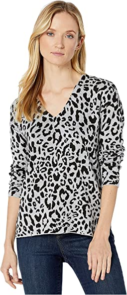 All Over Leopard Grey/Black