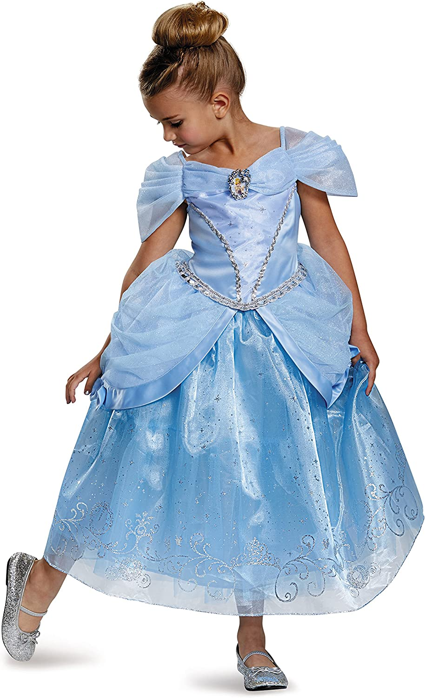 Prestige Disney Princess Cinderella Costume, Medium 78