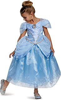 Prestige Disney Princess Cinderella Costume, Medium/7-8