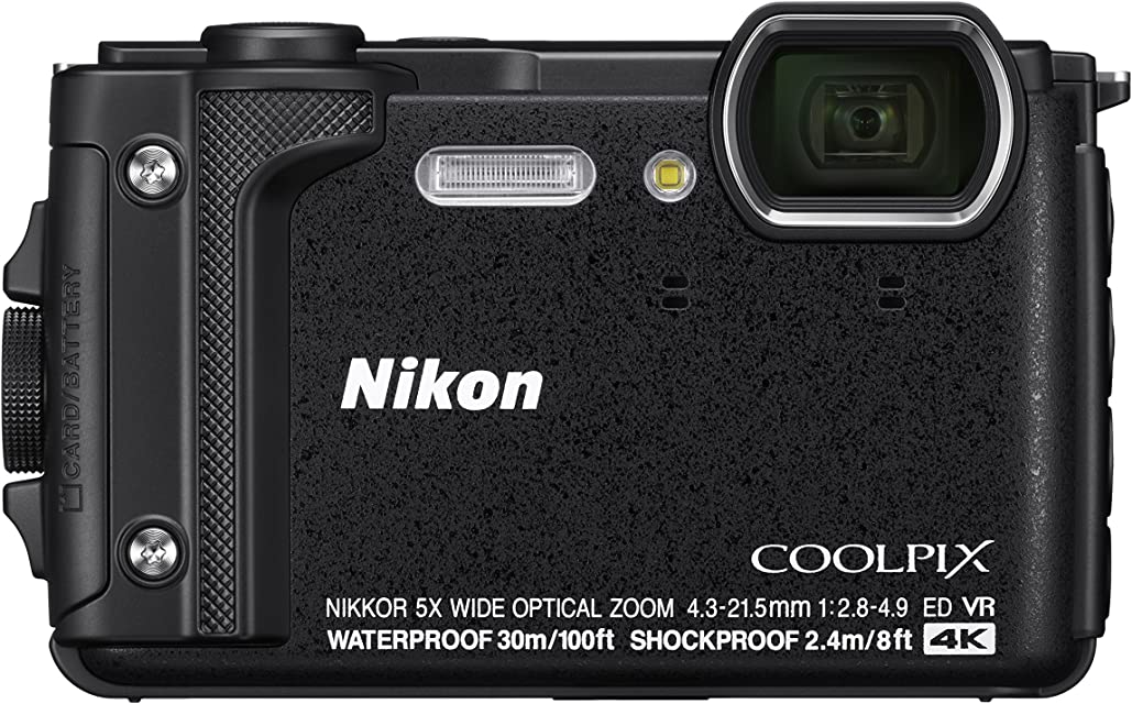 Nikon COOLPIX W300 Cámara compacta 16 MP 1/2.3 CMOS 4608 x 3456 Pixeles Negro - Cámara digital (16 MP 4608 x 3456 Pixeles CMOS 5x 4K Ultra HD Negro)