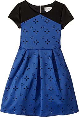 Us Angels - Cap Sleeve Cut Out with A Full Skirt (Big Kids)