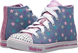 SKECHERS KIDS - Twinkle Toes: Sparkle Glitz - Shiny Starz 10863L Lights (Little Kid/Big Kid)
