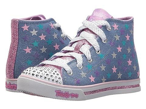 Skechers Twinkle Toes: Sparkle Glitz-Shiny Starz (Girls' Toddler-Youth) YmGo1rdo6p
